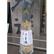 飛騨手作り★  うま塩  岩塩タイプ瓶入120g (こちらの商品は ご注文受付から 作っていただきます。)